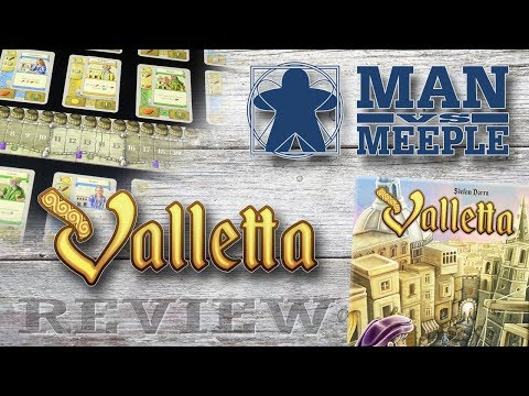 Valletta Review by Man Vs Meeple