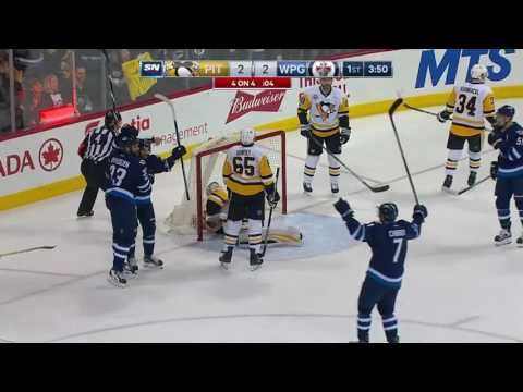 Pittsburgh Penguins vs Winnipeg Jets - March 8, 2017 | Game Highlights | NHL 2016/17