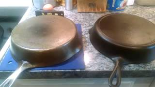 Wobble in Cast Iron - What Is It?  Can You Cook in a Wobbly Pan?  Watch to find out!