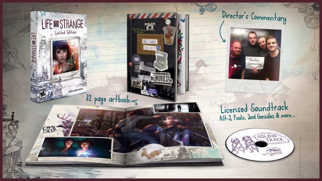 Life is Strange Boxed Limited Edition - Out Now
