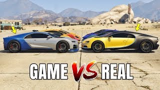 GTA 5 ONLINE   GTA 5 CARS VS REAL LIFE CARS PART #04 (WHICH IS FASTEST?)