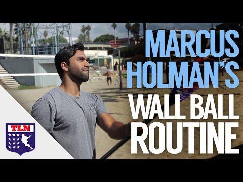 Wall Ball Routine