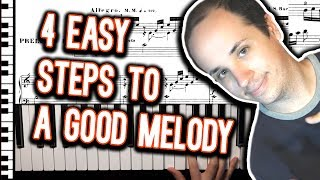 The 4 Steps to Writing a Melody Using Piano