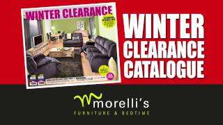 preview picture of video 'Morelli's Furniture & Bedtime Winter Clearance Sale 2014'