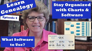 Learn Genealogy - Organized With Charts And Software - Episode 4