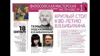 Философская мастерская. Мастер-класс №1.