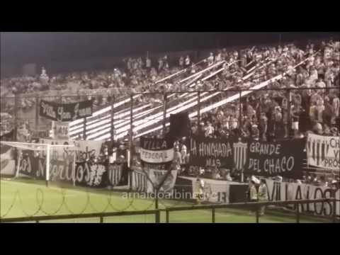 """Hinchada Chaco For ever vs Guaraní"" Barra: Los Negritos • Club: Chaco For Ever"