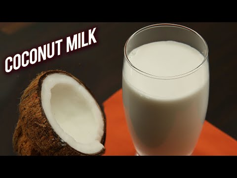 How To Make Fresh Coconut Milk | Home Made Coconut Milk | World Coconut Day Special – Ruchi