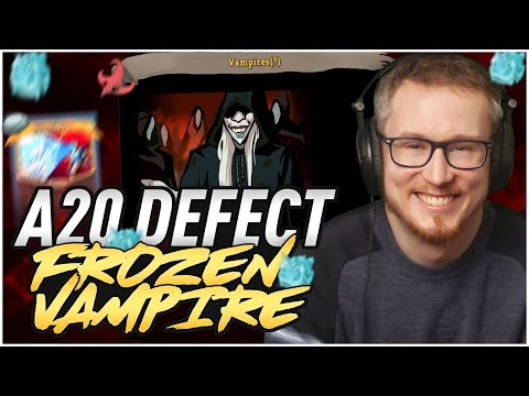 The Frozen Vampire! | Ascension 20 Defect Run | Slay the Spire