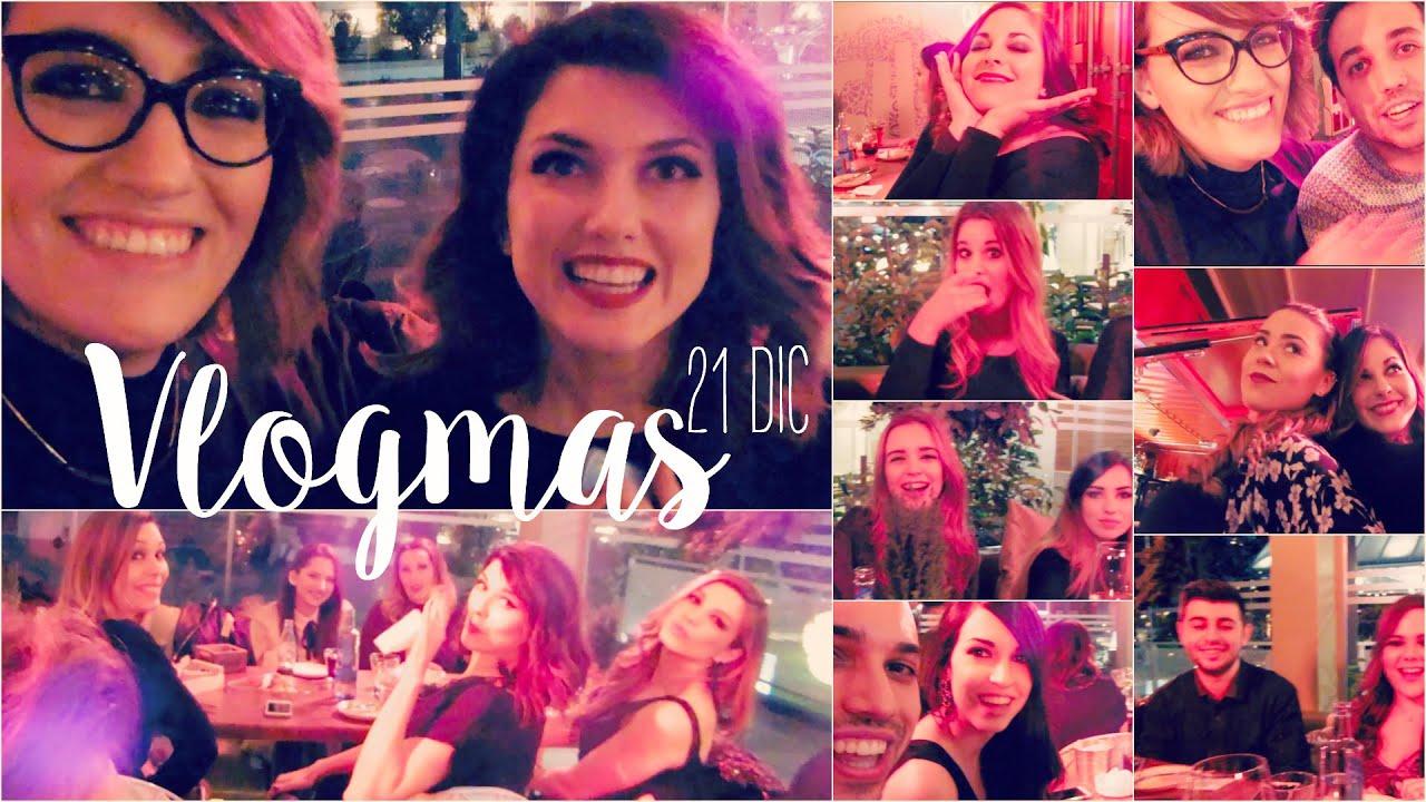 VLOGMAS: Cena con Youtubers y el tetazo #bloggerslovenavidad #defarruqueo