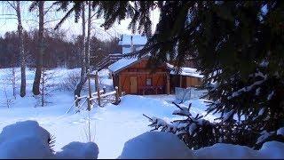 Шугайловские Дворики зимой // Из города в деревню