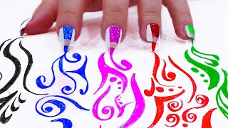 7 DIY EASY NAIL ART DESIGNS | HOW TO PAINT CUTE NAILS AT HOME