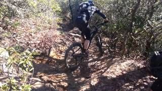 How to clear the first tricky rock section...