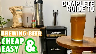 How To Brew Beer Cheap & Easy!
