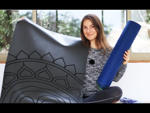 Как выбрать КОВРИК ДЛЯ ЙОГИ | Каучуковый мат | коврик для йога chilelavida