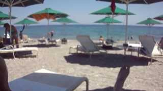 preview picture of video 'Vacation at Greece ( Rhodos ) Beach clip! Part 1'