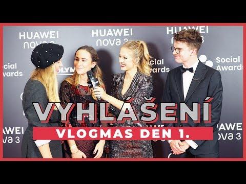 VLOGMAS DEN 1. | Vyhlášení Czech Social Awards!