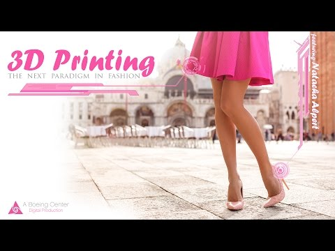 3D Printing  •  The Next Paradigm in Fashion