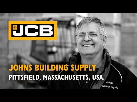 JCB Teletruk at Johns Building Supply - USA