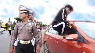 Nekat Kabur Di Tilang POLISI - Parkour VS Police