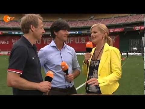 Jürgen Klinsmann und Joachim Löw, Interview nach USA 4- 3 Deutschland, 02.06.2013