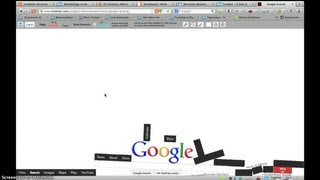 How To do Google Gravity Trick and Askew (Tilt) Trick