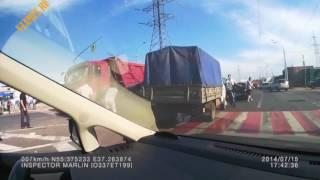 Подборка ДТП №8 аварий страшные аварии с фурами