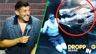 Swimming With GIANT ALLIGATORS In Miami   Dropping In w/ Andrew Schulz #61