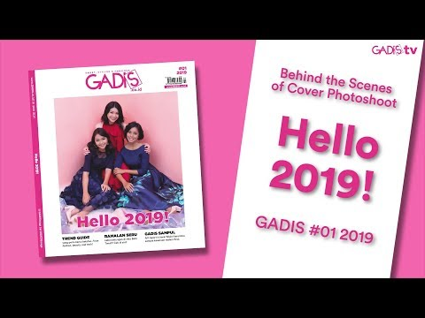 Behind The Scenes: Cover Photoshoot GADIS 01 2019