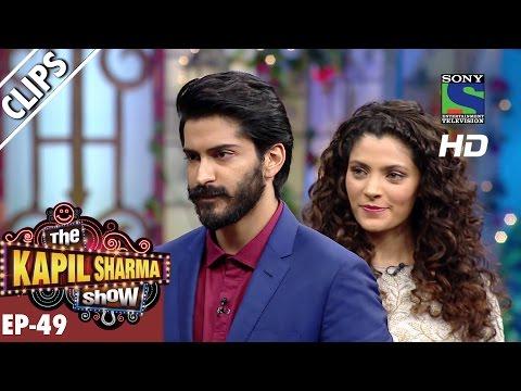 Harshvardhan Kapoor and Saiyami Kher promoting Mirzya -The Kapil Sharma Show-Ep.49-8th Oct 2016