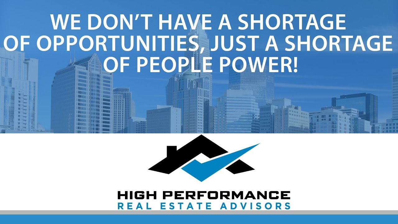 We Don't Have a Shortage of Opportunities, Just a Shortage of People Power!