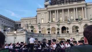 8/5/15 'March, 'Resumption,' John Philip Sousa, US Marine Band