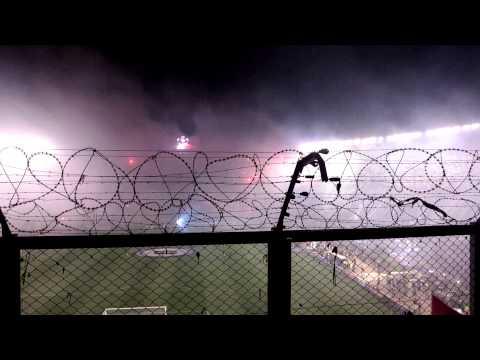 """""""River vs Tigres. Final Copa Libertadores 2015"""" Barra: Los Borrachos del Tablón • Club: River Plate"""