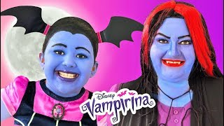 Disney Junior Vampirina and Oxana | Makeup Halloween Costumes and Toys