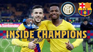 INSIDE CHAMPIONS   Inter 1-2 Barça - Young guns claim historic victory in Milan