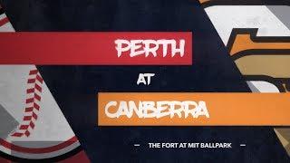 LIVE: Perth Heat @ Canberra Cavalry, R5/G1