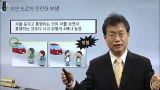 도로별안전보행법 이면 도로, 좁은 도로, 골목길 보행법