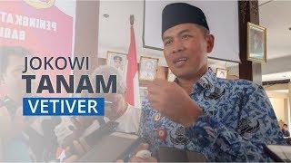 Tanam 2.000 Pohon di Wonogiri, Jokowi Sarankan untuk Manfaatkan dan Menjaga Lahan kritis.
