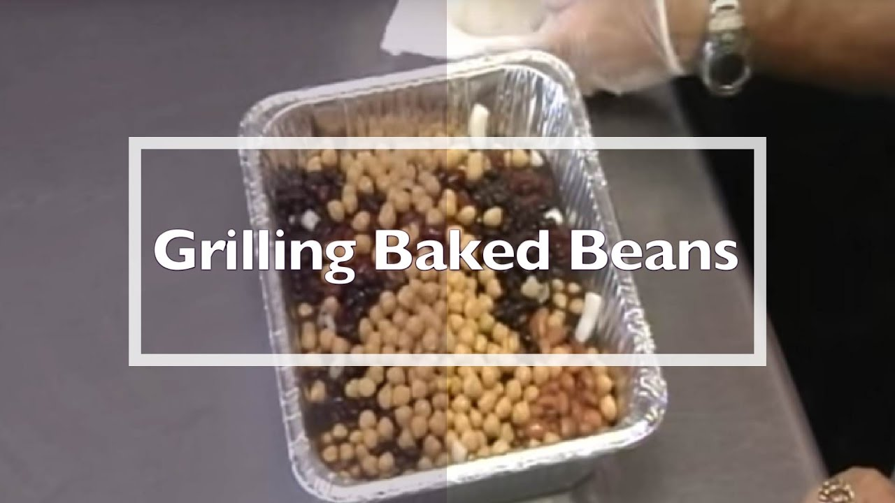 Grilling Baked Beans with 4 Legs Up BBQ