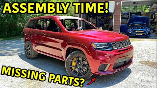 Rebuilding A Wrecked 2018 Jeep Trackhawk Part 20