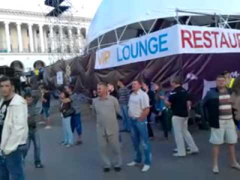 "В киевской фан-зоне объявили ""предсказания"" хорька Фреда (видео)"