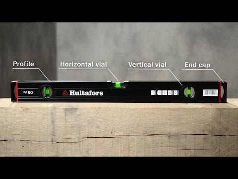 Hultafors - Aluminium Wasserwaage HV und PV