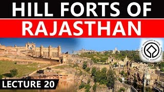 UNESCO World Heritage Site, Hill Forts Of Rajasthan, Rajput Architecture Of 8th - 18th Centuries #20