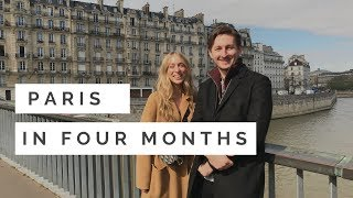 A Walk Across The Seine With Paris In Four Months