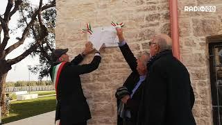Villa Sylos dedicata alla memoria di Franco Sannicandro e di Angelo Vassallo