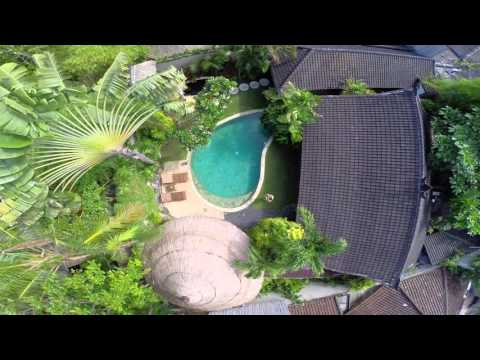 Villa Kubu From the Air, by @TheGlobeWanderer