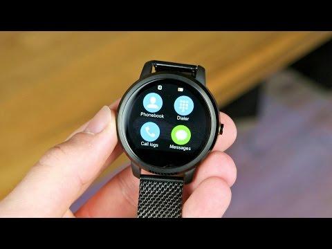 Eine RUNDE Smartwatch für 50€! Ordro V360 Unboxing und erster Eindruck - Techniklike