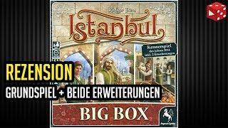 Istanbul Big Box: Grundspiel inkl. Mokka & Bakschisch, Brief & Siegel (Pegasus) - Brettspiel im Test