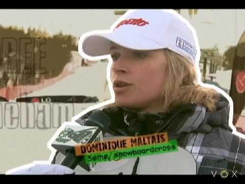 Dominique Maltais-Snowboardcross-Jamboree 2010