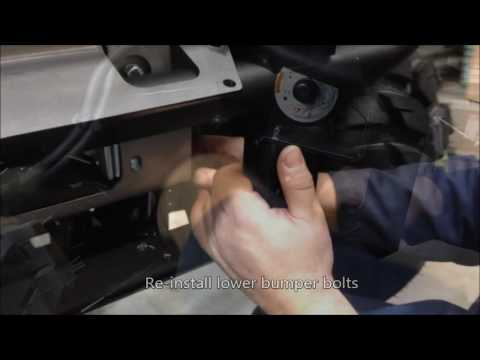 How to Install a Warn Winch Mount on the Kawasaki Mule SX